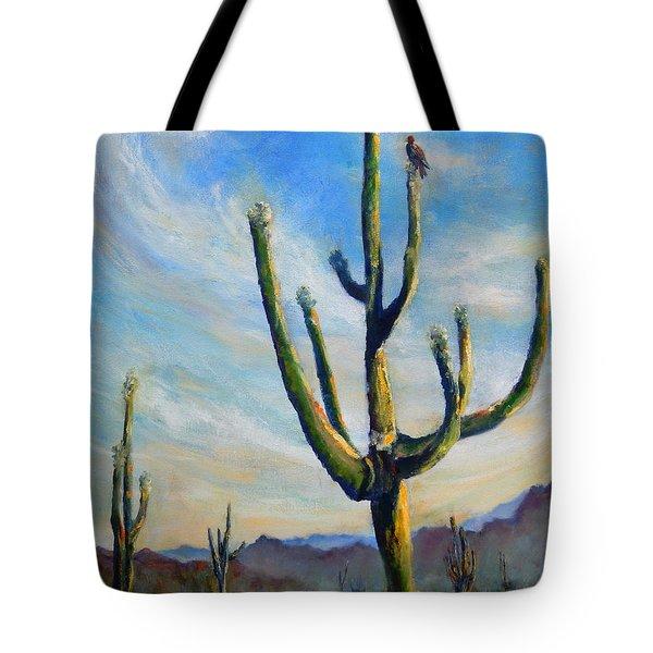 Saguaro Cacti Tote Bag