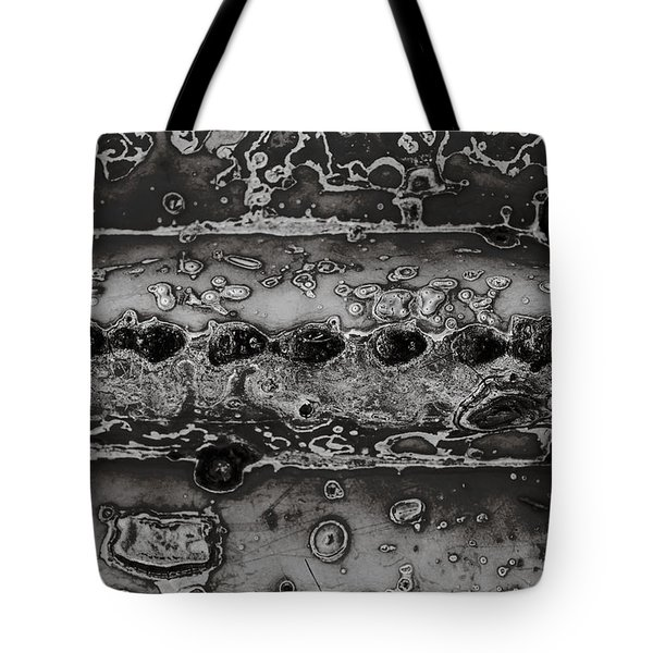 Saguaro Cactus Black And White 2 Tote Bag