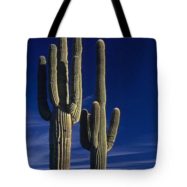 Saguaro Cactus Sunset Arizona State Usa Tote Bag