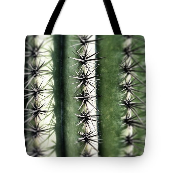 Tote Bag featuring the photograph Saguaro Catus Needles by Bryan Mullennix