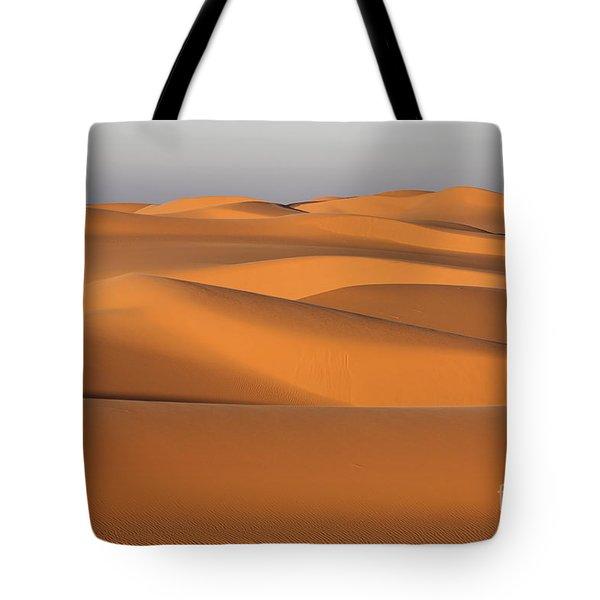 Sahara Desert Dunes Tote Bag by Robert Preston