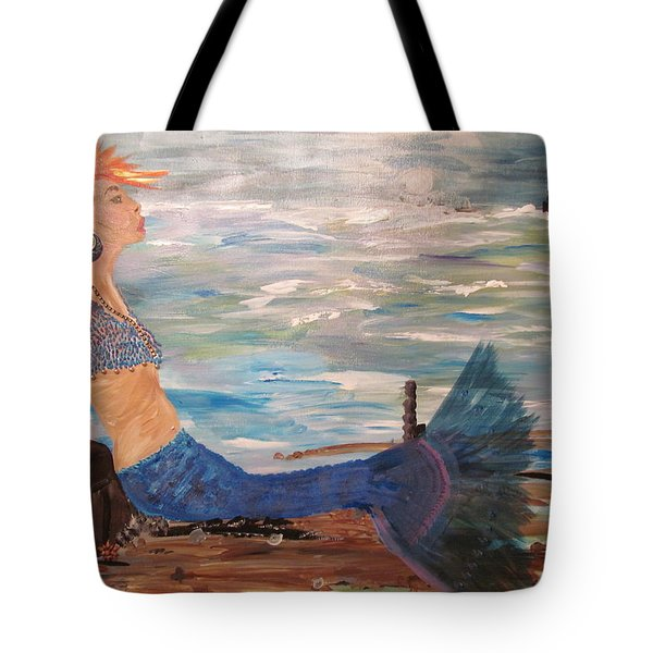 Sahbreena Punk Mermaid Tote Bag