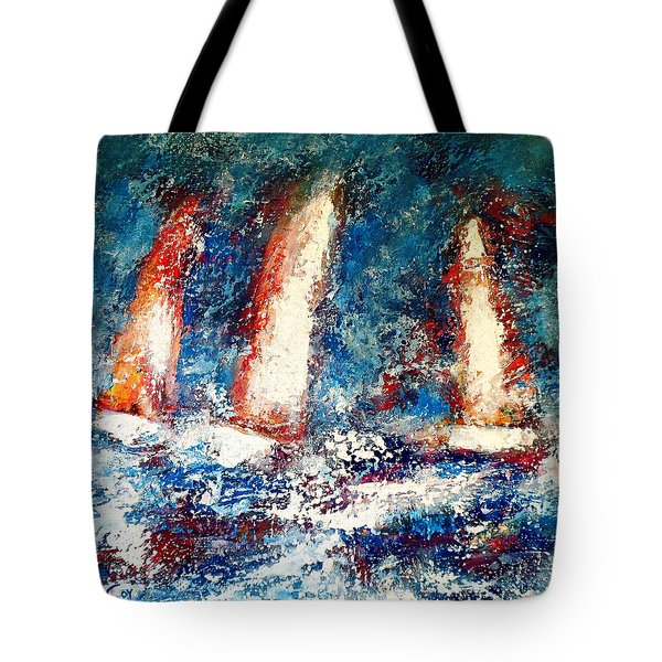Sail On Tote Bag