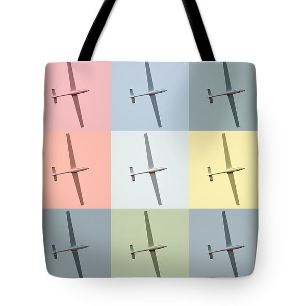 Sail Plane  Tote Bag by Tommytechno Sweden