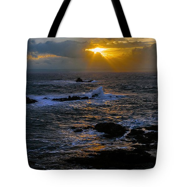Sail Rock Sunrise Tote Bag