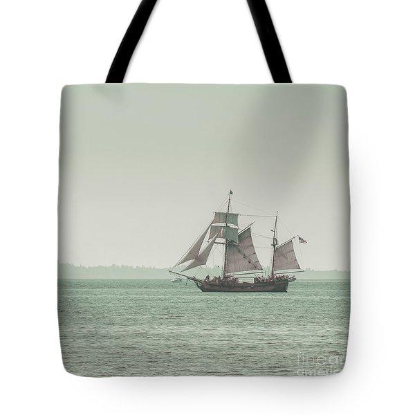 Sail Ship 2 Tote Bag