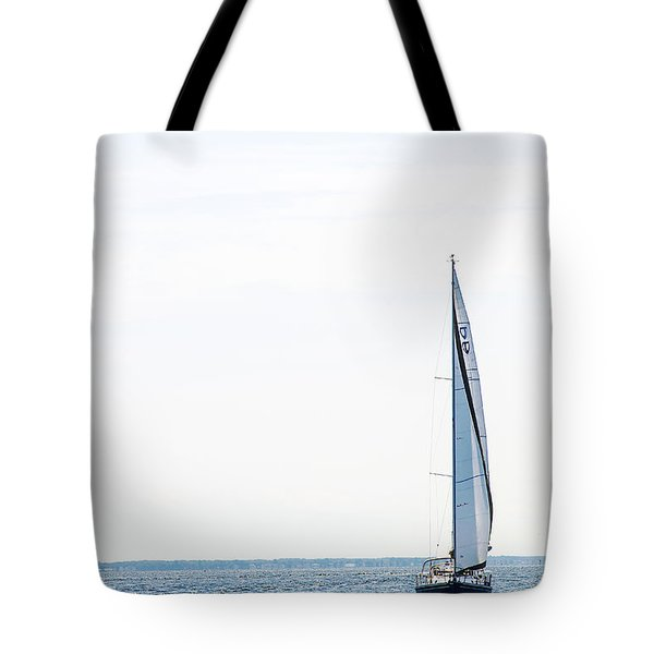 Sailboat Annapolis Tote Bag