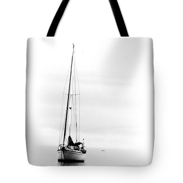 Sailboat Bw Too Tote Bag