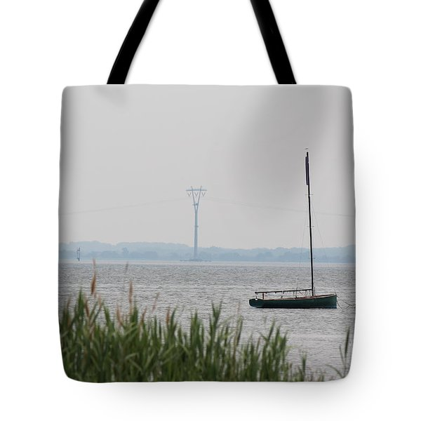Sailboat Tote Bag by David Jackson