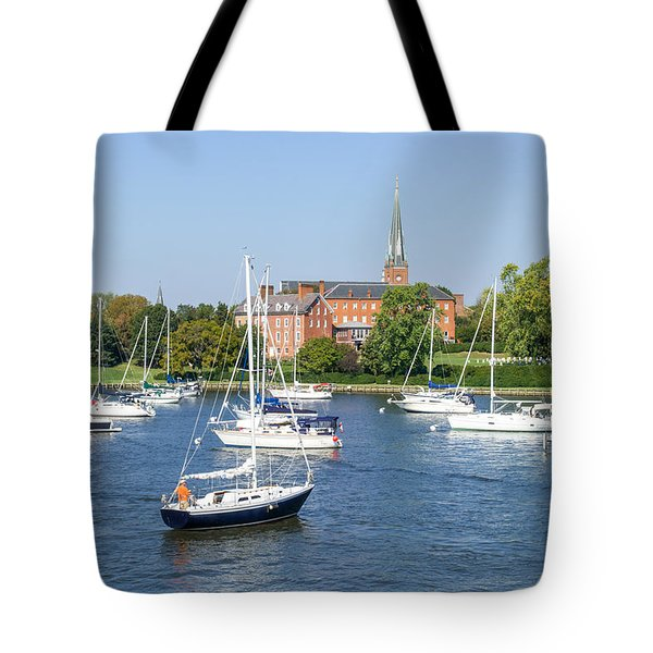 Sailboats By Charles Carroll House Tote Bag