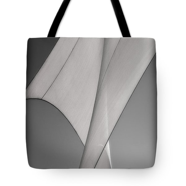 Sailcloth Abstract Number 3 Tote Bag