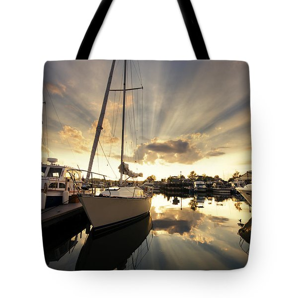 Sailed In Tote Bag by Alexey Stiop