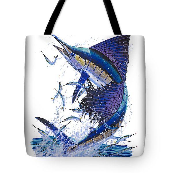 Sailfish Tote Bag by Carey Chen