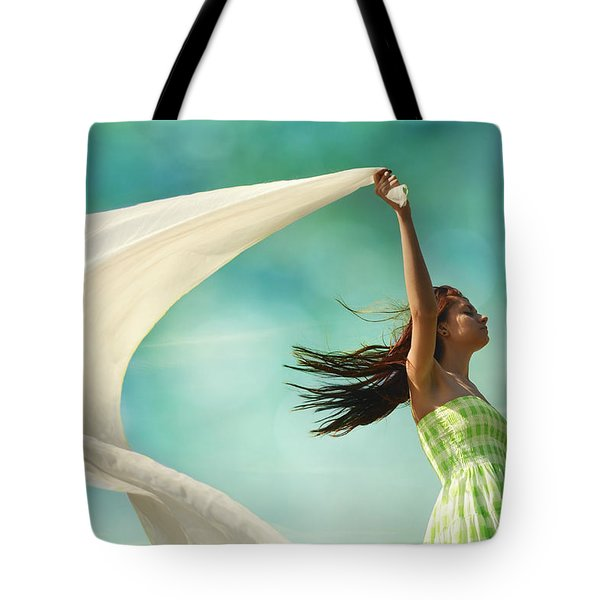 Sailing A Favorable Wind Tote Bag