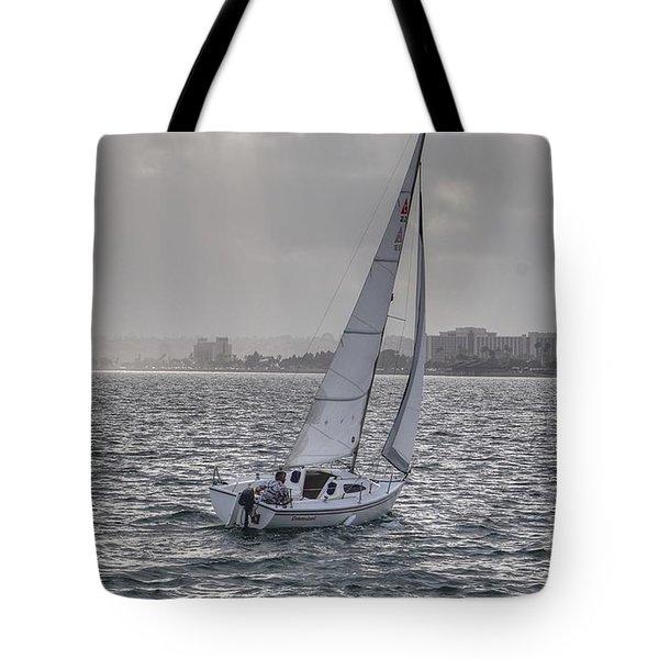 Sailing Bliss  Tote Bag