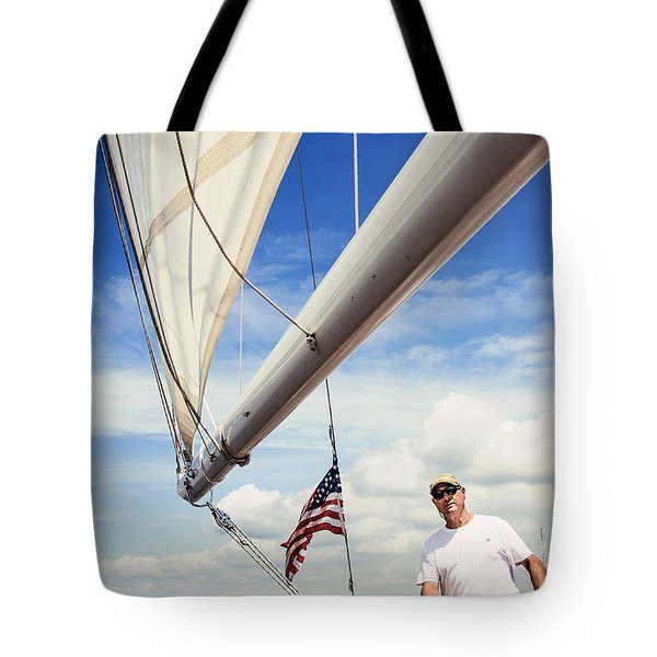 Sailing Captain Pride Tote Bag