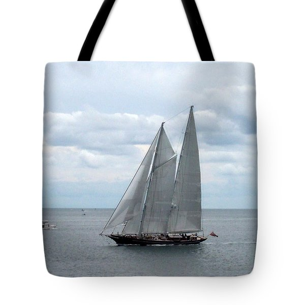 Sailing Day Tote Bag by Catherine Gagne