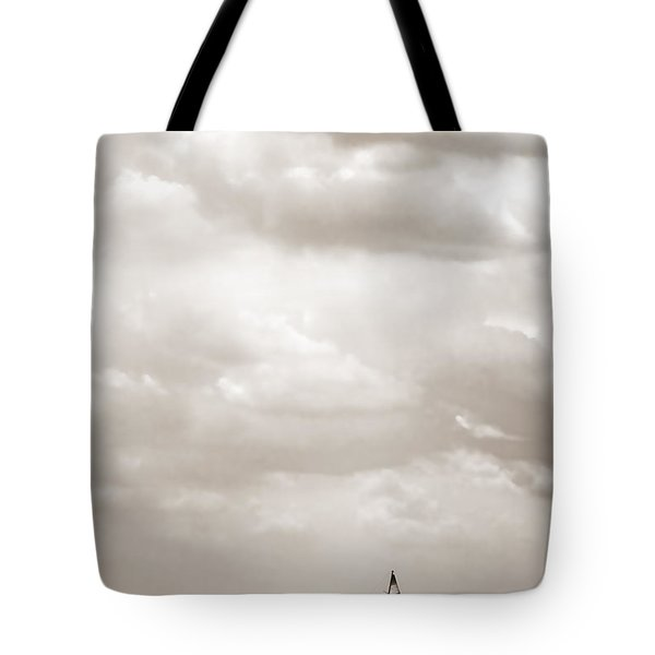 Sailing In New York Harbor - Nautical Tote Bag by Gary Heller