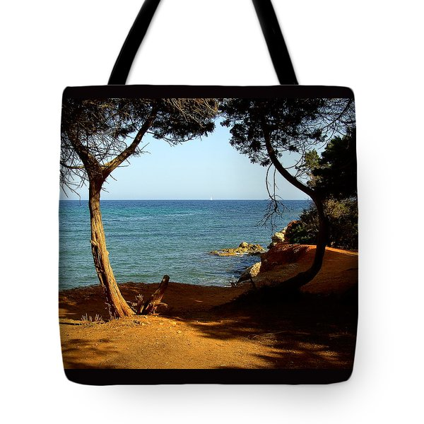Sailing In Solitude Tote Bag