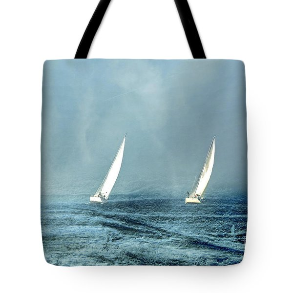 Sailing Into The Unknown Tote Bag by Andrea Kollo