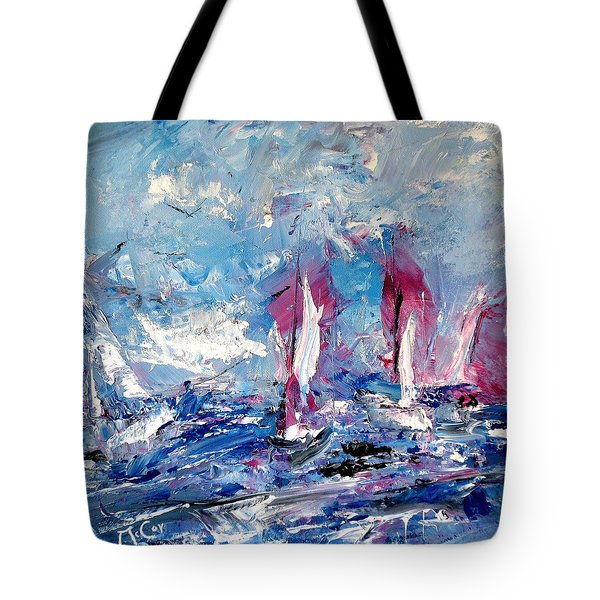 Sailing Magic Tote Bag