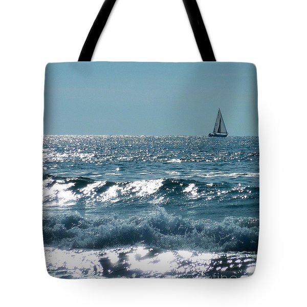 Sailing Tote Bag by Mike Ste Marie
