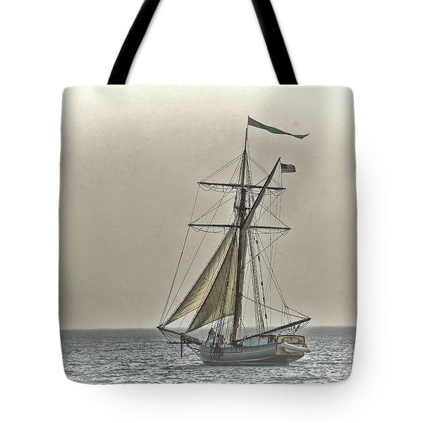 Sailing Off Tote Bag