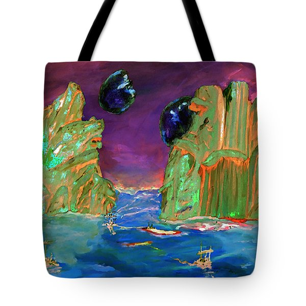 Sailing On Beta Antares 3 Tote Bag