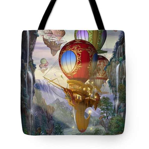 Sailing Ships Tote Bag