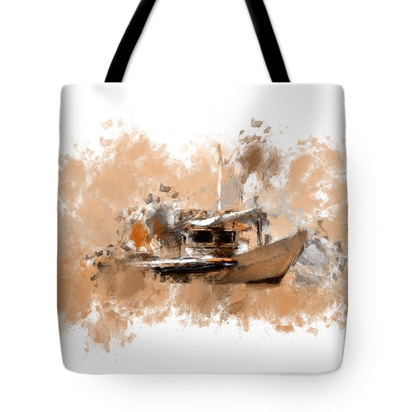 Sailing Time Tote Bag by Lourry Legarde