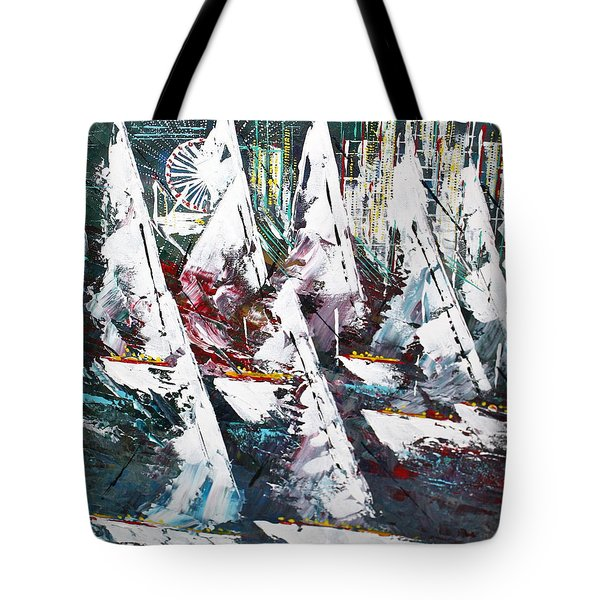 Sailing With Friends - Sold Tote Bag