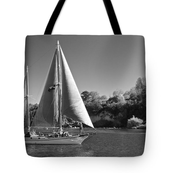 The Fearless On Lake Taupo Tote Bag