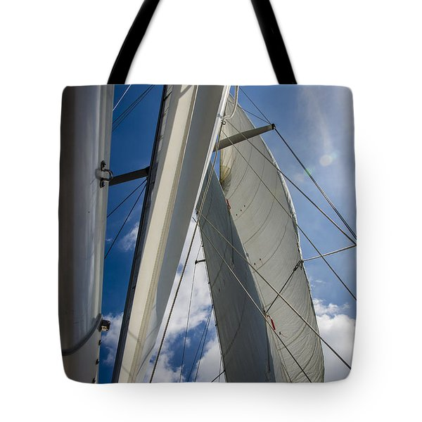 Sailing's Perfect Breeze  Tote Bag