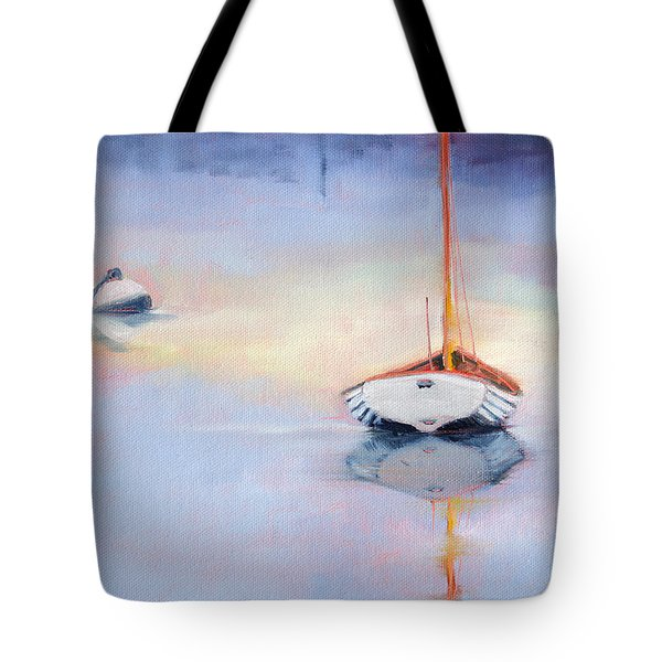 Sails Down - Evening Stillness Tote Bag