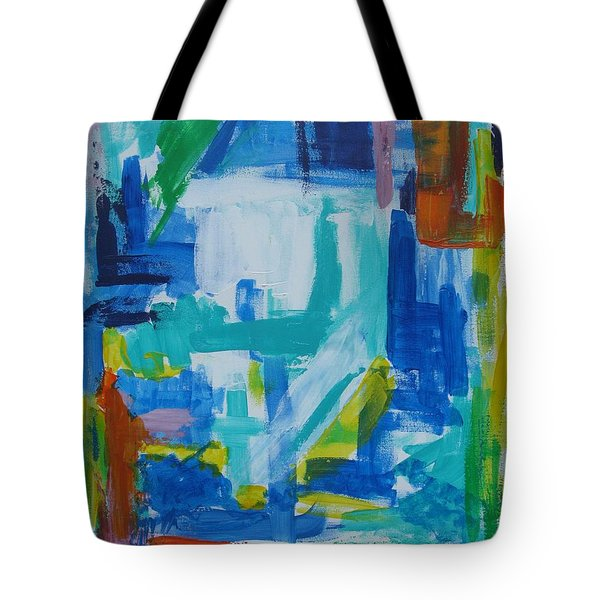 Sails In The Harbor Tote Bag
