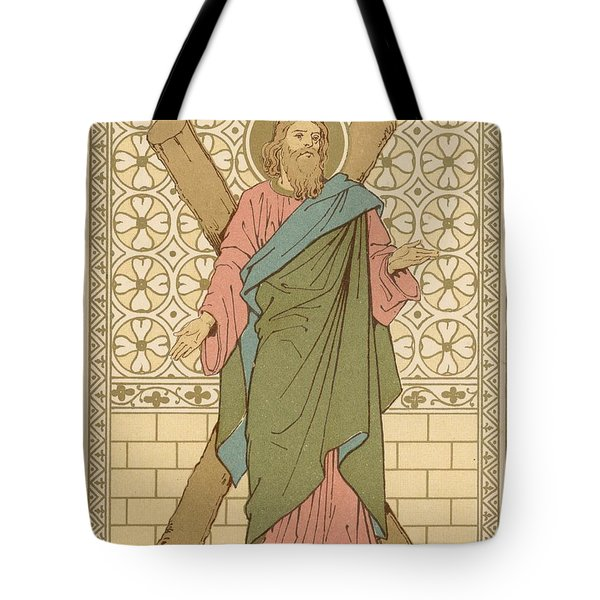 Saint Andrew Tote Bag by English School