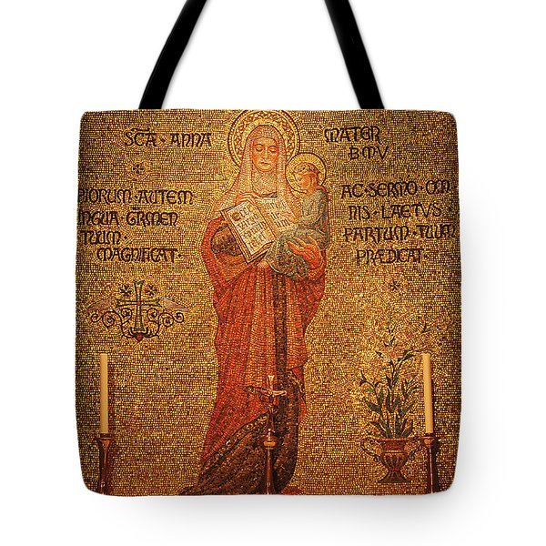 Saint Anne Altar Tote Bag