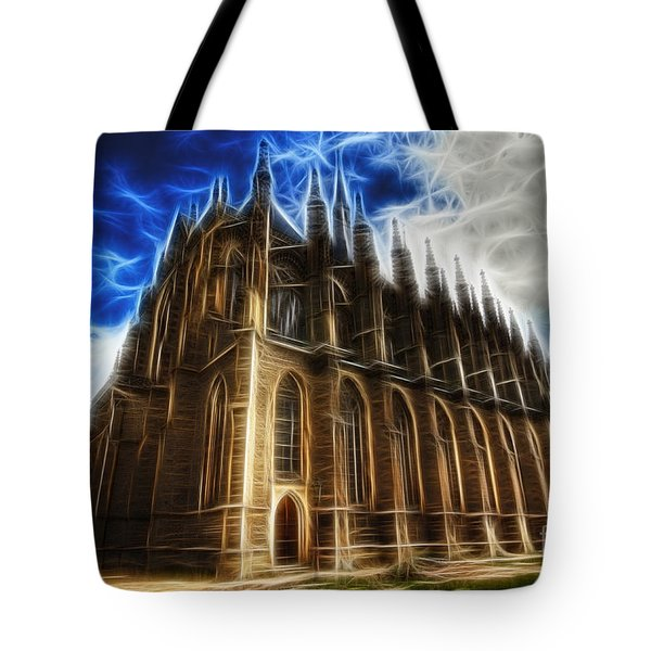 Saint Barbara Church Kutna Hora Tote Bag by Michal Boubin