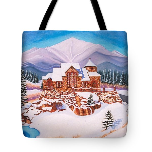 Saint Catherine Chapel Tote Bag