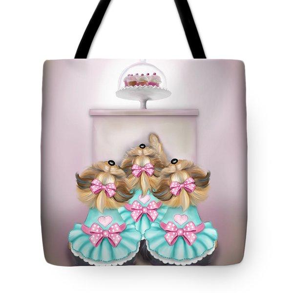 Saint Cupcakes Tote Bag