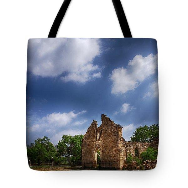Saint Dominic Catholic Church In Old D'hanis Texas Tote Bag
