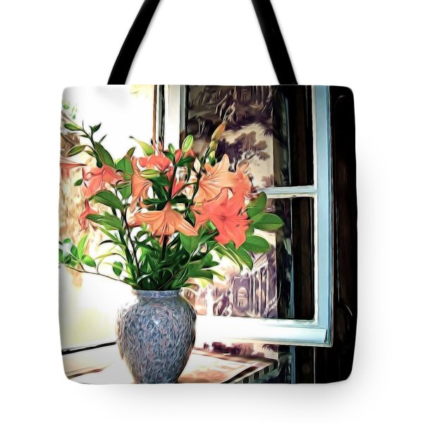 Saint Emilion Window Tote Bag