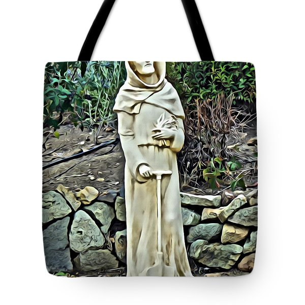 Saint Fiacre Tote Bag