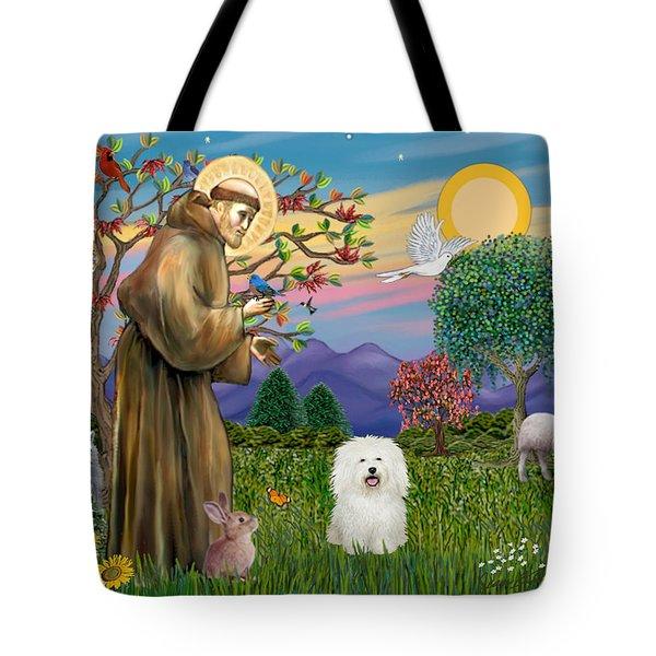 Saint Francis Blesses A Bolognese Tote Bag