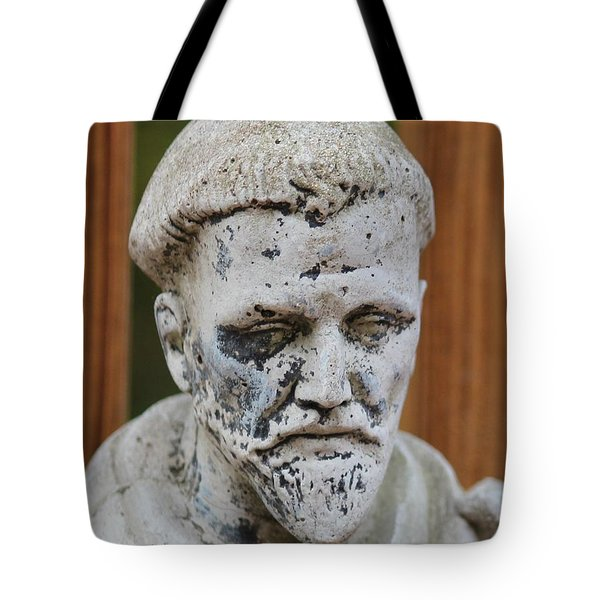Tote Bag featuring the photograph Saint Francis by Cynthia Snyder
