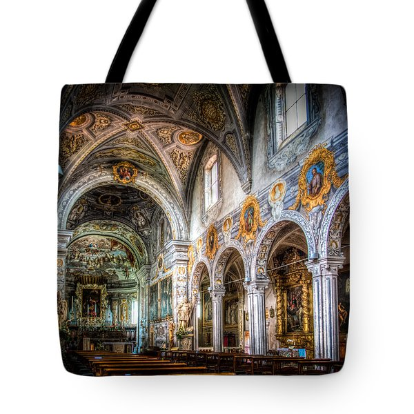 Saint George Basilica Tote Bag by Traven Milovich