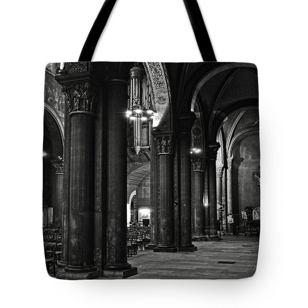 Saint Germain Des Pres - Paris Tote Bag