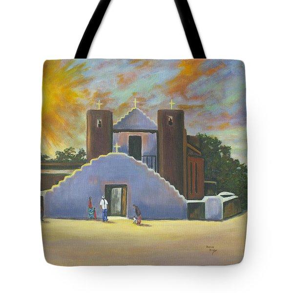 Saint Jerome Church Tote Bag