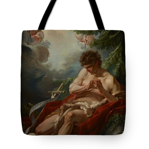 Saint John The Baptist Tote Bag by Francois Boucher