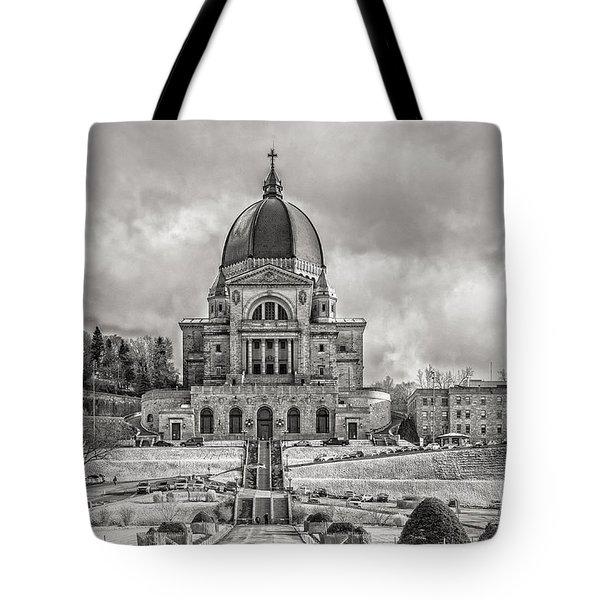 Saint Joseph Oratory Tote Bag